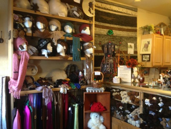 Alpaca hats, scarves, blankets, sweaters and jewelry for sale
